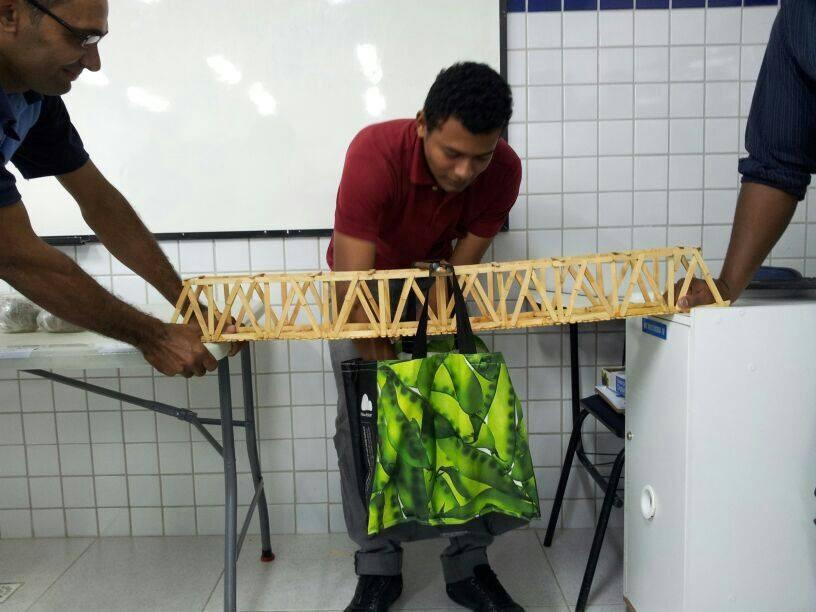 Aula Prática e Visita Técnica dos alunos do Curso Técnico em Edificações - Foto 15