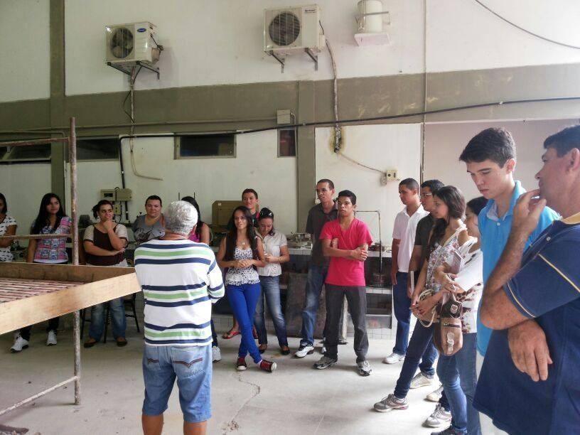 Aula Prática e Visita Técnica dos alunos do Curso Técnico em Edificações - Foto 12