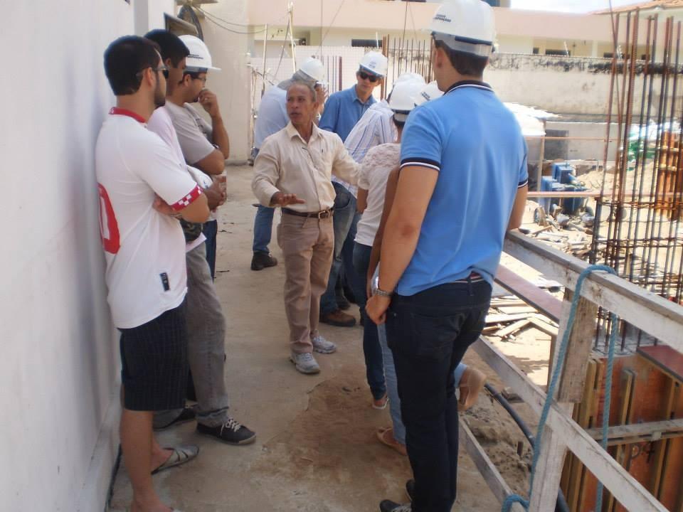 Aula Prática e Visita Técnica dos alunos do Curso Técnico em Edificações - Foto 11