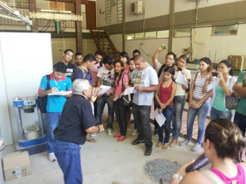Aula Prática e Visita Técnica dos alunos do Curso Técnico em Edificações - Foto 4