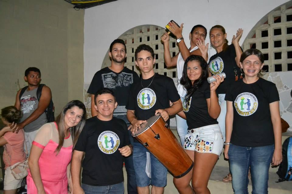 Gincana com os alunos do Curso Técnico em Segurança do Trabalho - Foto 21