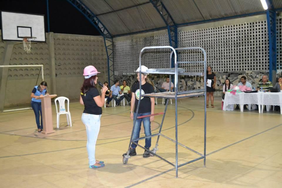 Gincana com os alunos do Curso Técnico em Segurança do Trabalho - Foto 15
