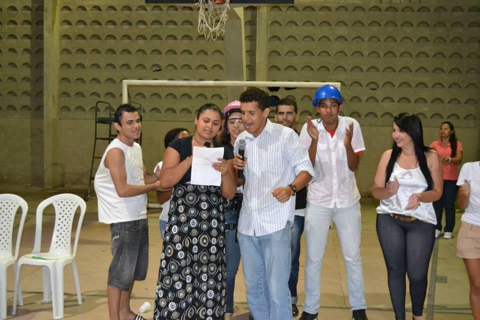 Gincana com os alunos do Curso Técnico em Segurança do Trabalho - Foto 16