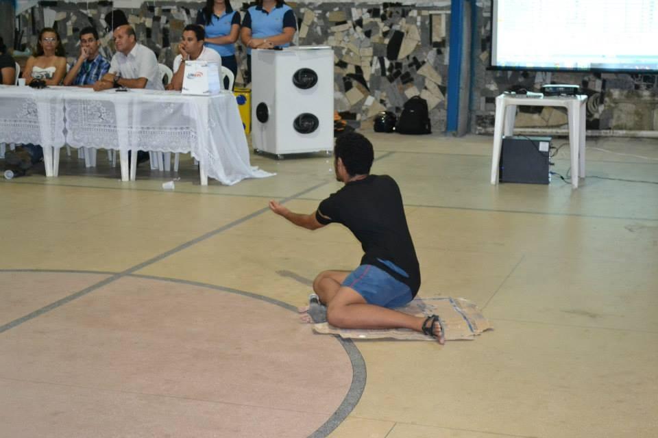 Gincana com os alunos do Curso Técnico em Segurança do Trabalho - Foto 14