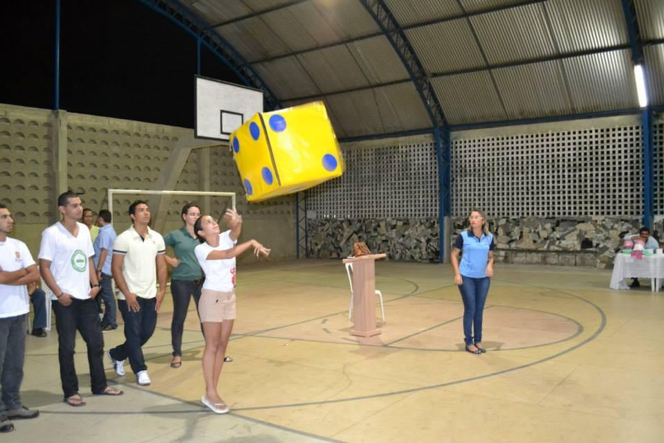 Gincana com os alunos do Curso Técnico em Segurança do Trabalho - Foto 13
