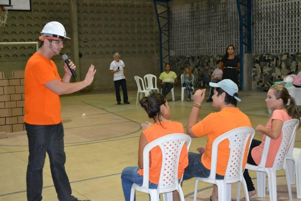 Gincana com os alunos do Curso Técnico em Segurança do Trabalho - Foto 2